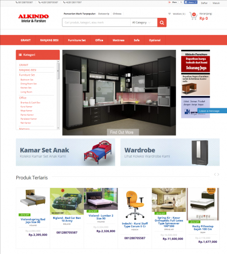 Alkindo furniture